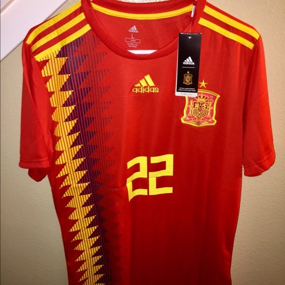 61055bb82 2018 FIFA WORLD CUP SPAIN JERSEY. NWT. adidas